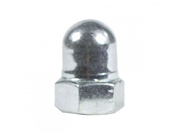 Hutmutter aus Stahl für 9,5mm Achse