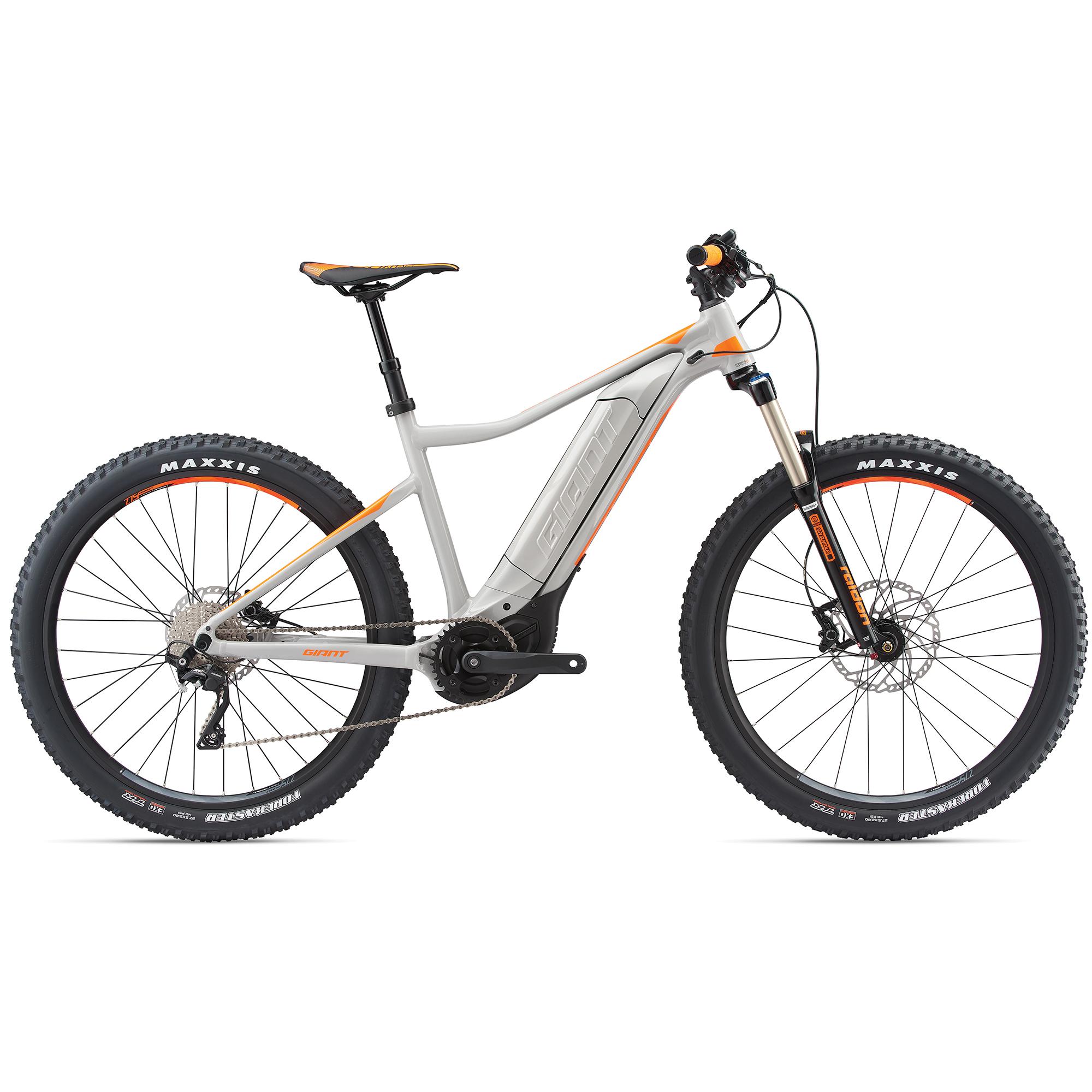 giant dirt e 2 pro grau orange 2018 online kaufen bmo bike mailorder. Black Bedroom Furniture Sets. Home Design Ideas