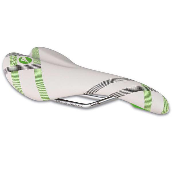 Galaxy CroMo-Rail Sattel - weiss/grün