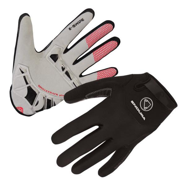 Singletrack Plus Handschuh - Schwarz
