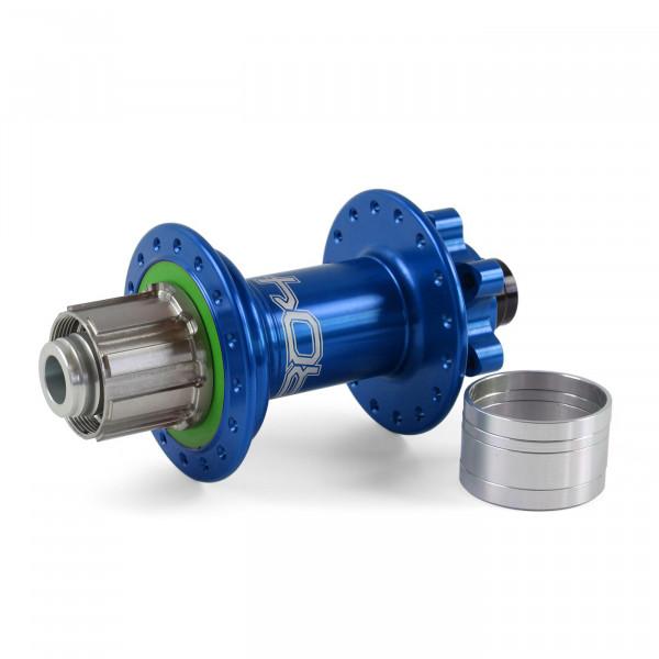 Pro 4 Trial/Singlespeed Hinterradnabe blau 32 Loch - 12x135/12x142mm