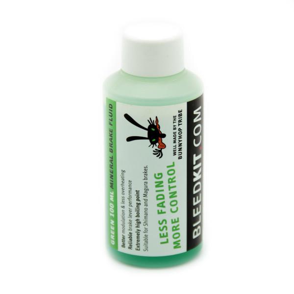 Mineralöl - Grün - für Shimano und Magura Bremsen
