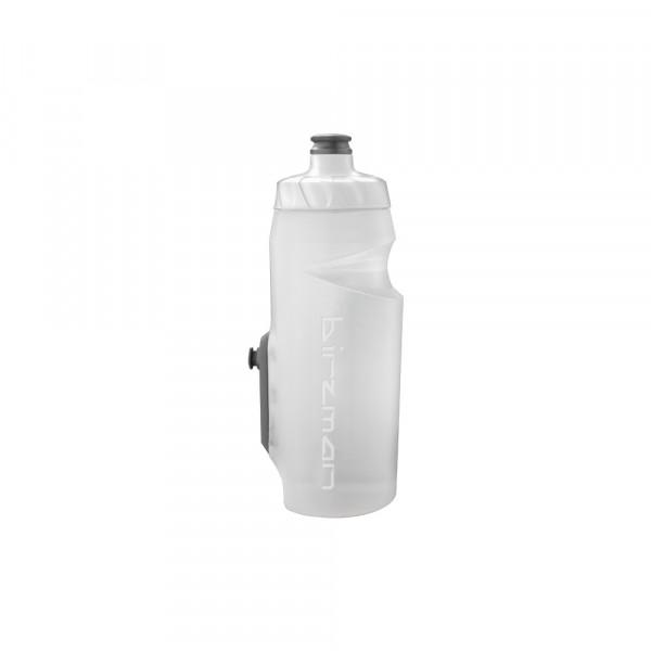Bottle Cleat Wasserflasche inkl. Cleat - 650 ml - weiss
