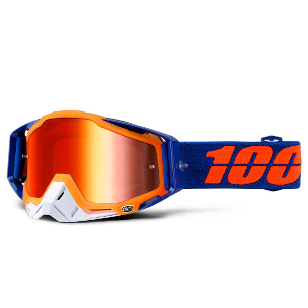 Racecraft Premium MX Goggle - Derestricted Mirror Lens