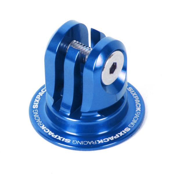 Aheadcap mit Kamerahalterung - blau
