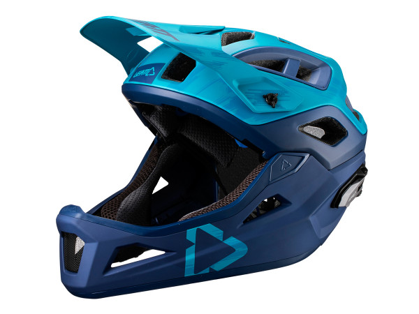 DBX 3.0 Enduro Helm - Blau/Dunkelblau