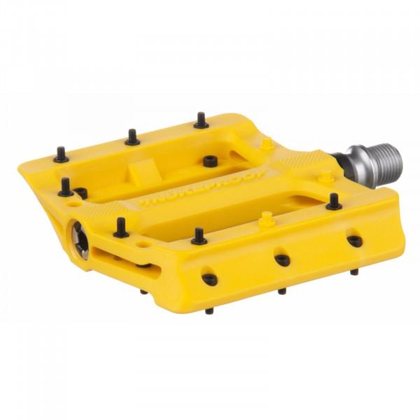 Neutron Evo Plattformpedale - gelb
