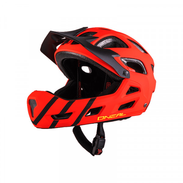 Thunderball Pro Helm - Youth - red/black
