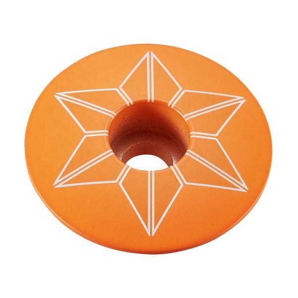 Star Cap Aheadkappe - Neon Orange