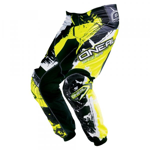 Element Pants - shocker black/neon yellow - 2017