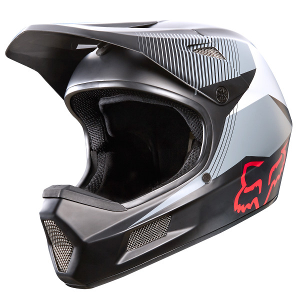 Rampage Comp Fullface Helm Dresden White Camo