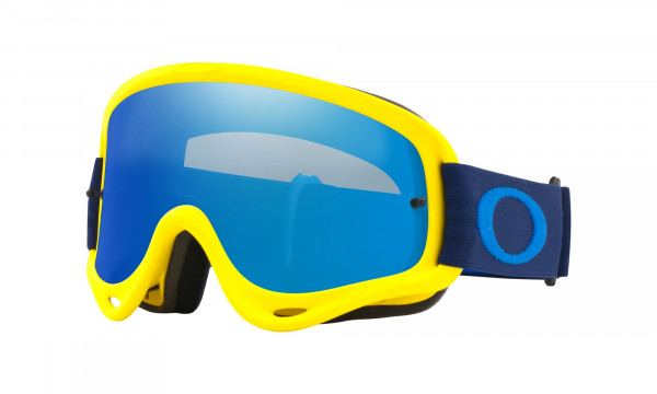 O Frame MX Goggle - Flo Yellow Navy