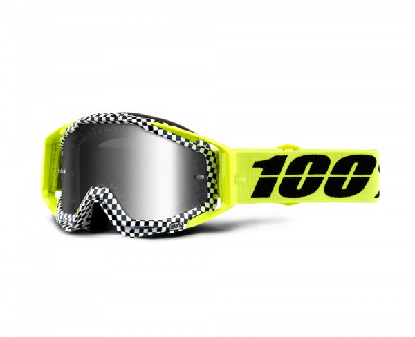 Racecraft Goggle Anti Fog Mirror Lens - Andre