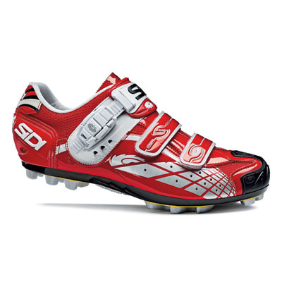 Spider SRS Vernice MTB  Schuhe - rot