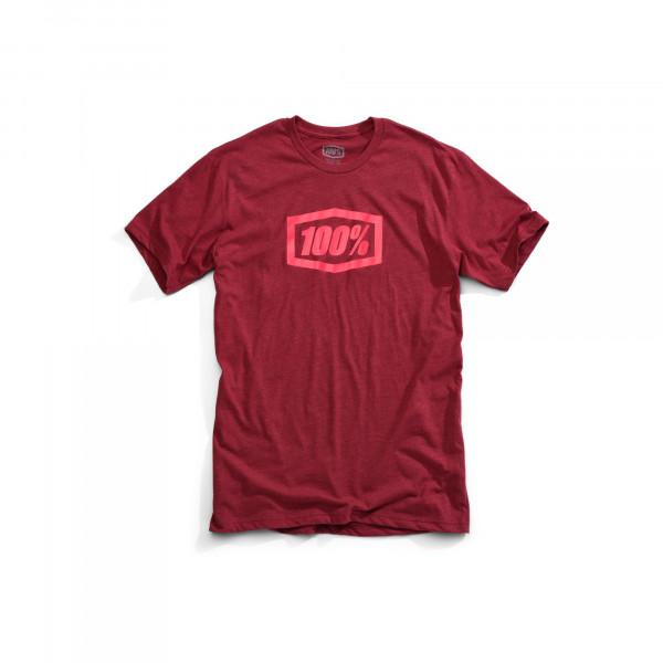 Essential T-Shirt - burgundy