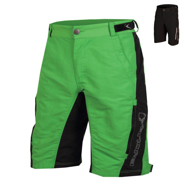Singletrack Shorts mit Innenhose