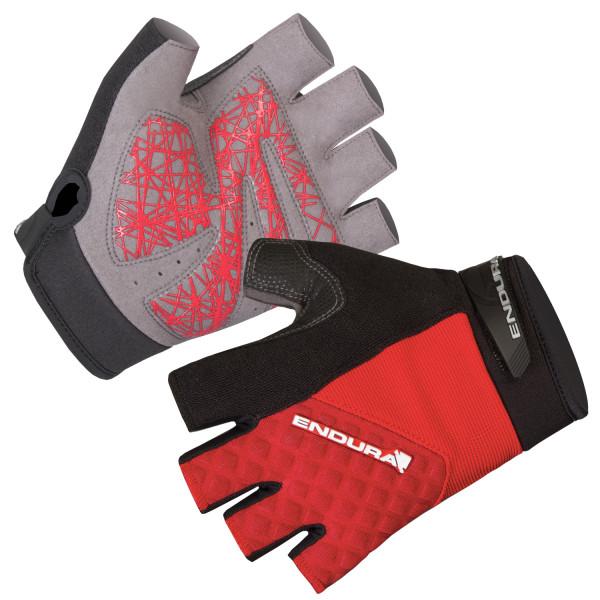 Hummvee Plus Kurzfingerhandschuh - Rot