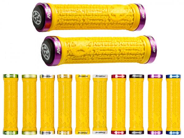 Stamp Lock-On Grips Griffe - gelb