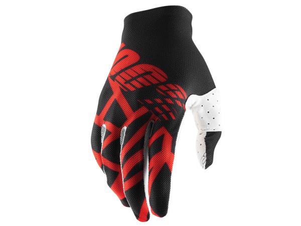 Celium 2 Handschuhe - Schwarz/Rot/Weiß