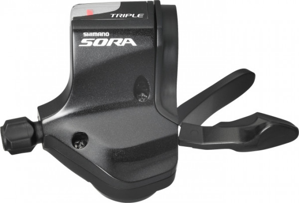 SORA SL-3503 Schalthebel 3-fach links für flache Lenker