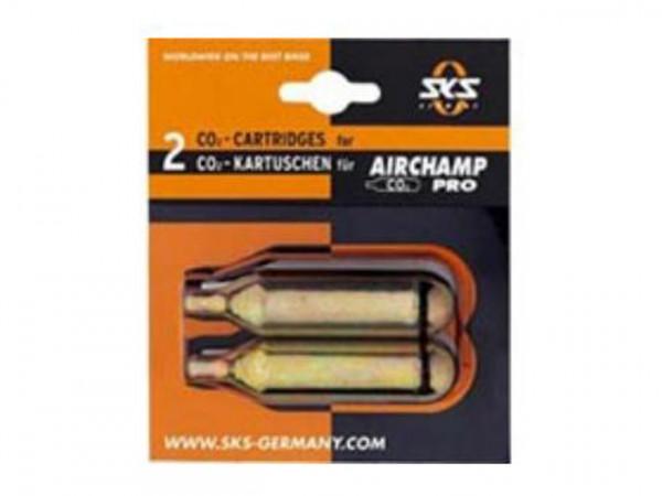 CO2 Ersatzkartuschen Doppelpack 16g - Airchamp
