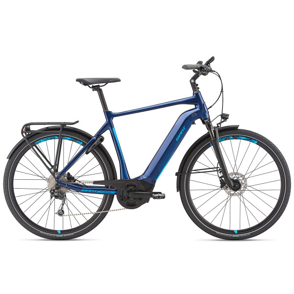 AnyTour E+2 GTS Power - Metallic Blau - 2019