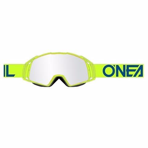 B20 Flat Goggle - neon yellow - Glass clear