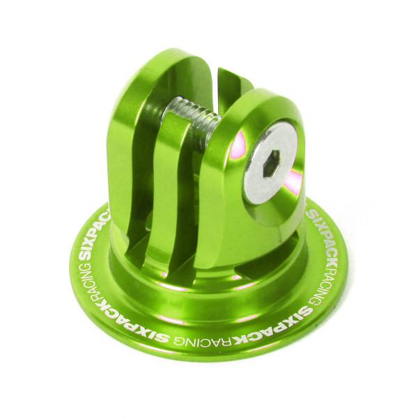 Aheadcap mit Kamerahalterung - grün