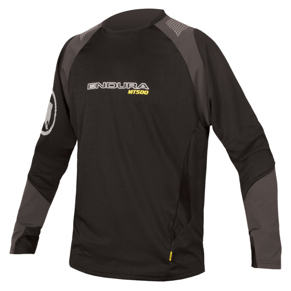MT500 Burner L/S Trikot - black - 2017