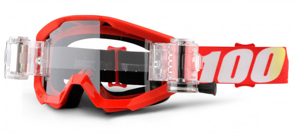 Strata Goggle Mud / SVS (inkl. SVS Roll-Off System) - Furnace - Clear Lens