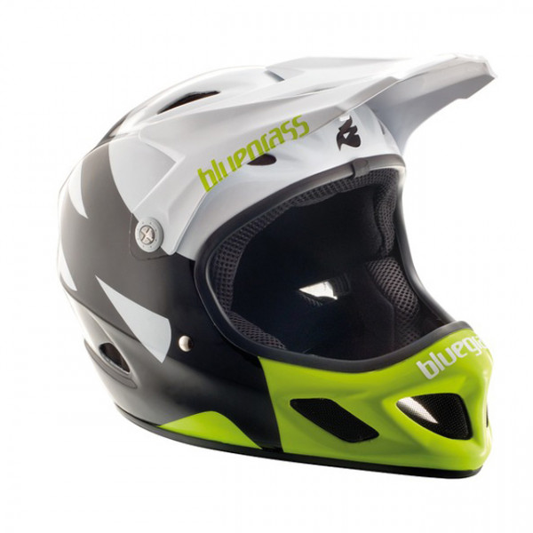 Explicit Full Face Helm - White/Black/Fluo Yellow