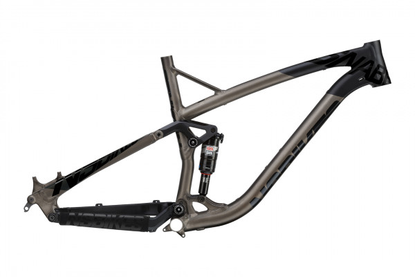 Snabb T Rahmen mit Monarch RT3 Debonair - black/dark raw