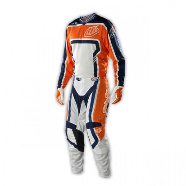 GP Air Kombo Trikot + Hose - Factory Orange Blue