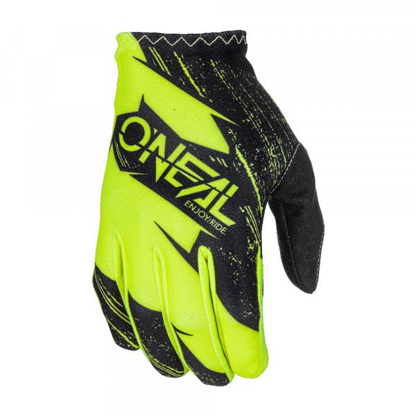 Matrix Glove Burnout Handschuh - black/neon yellow