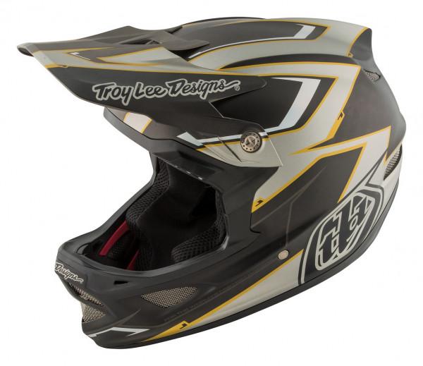 D3 Carbon MIPS Fullface Helm Cadence Gray