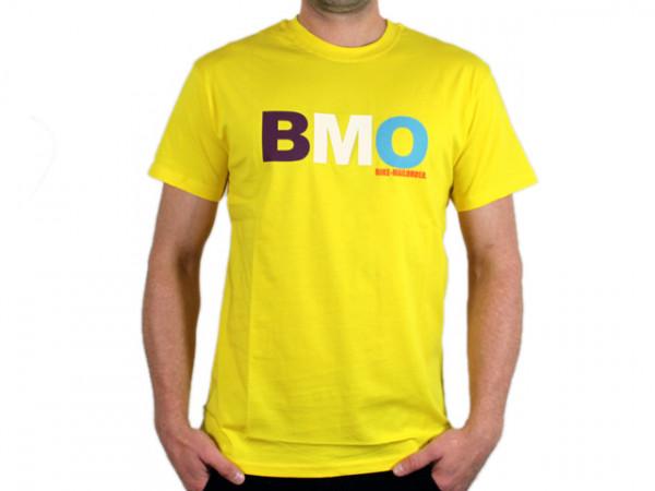 Logo Fan T-Shirt - gelb