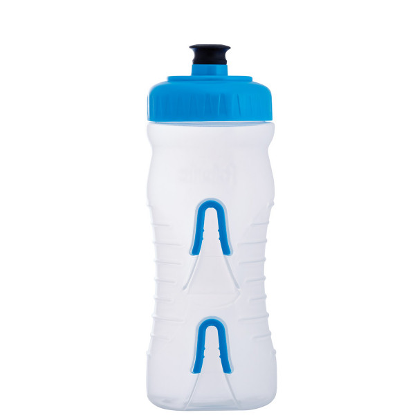 Cageless Trinkflasche - 600 ml - Klar/Blau