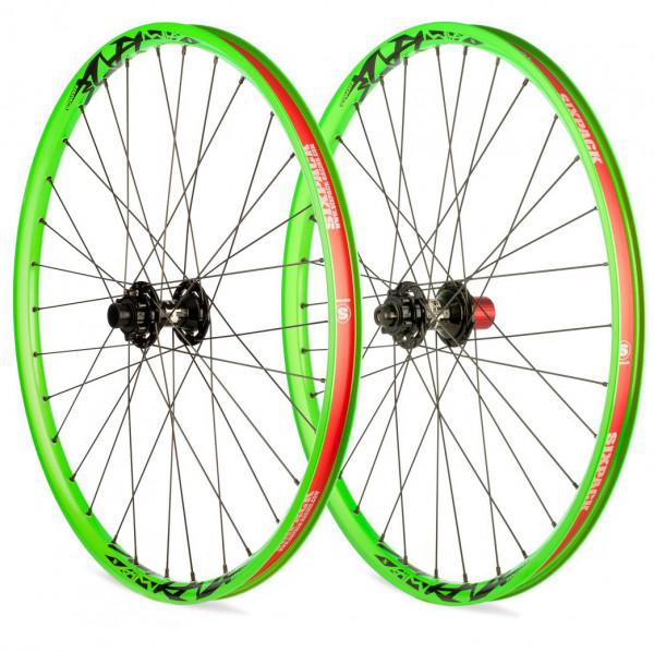 Vice DH Laufradsatz 26 Zoll 20/150mm - liquid green