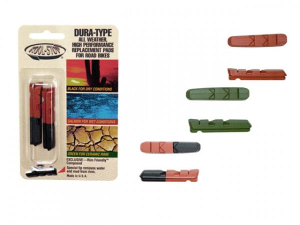 Dura Type Cartridge Bremsgummis 2er Set