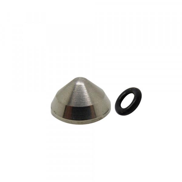 Abdeck-Kappe für Pitlock - Silber