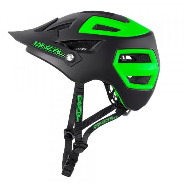 Pike Helm - matt black/green