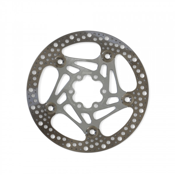 Road Rotor 160mm Bremsscheibe - silber