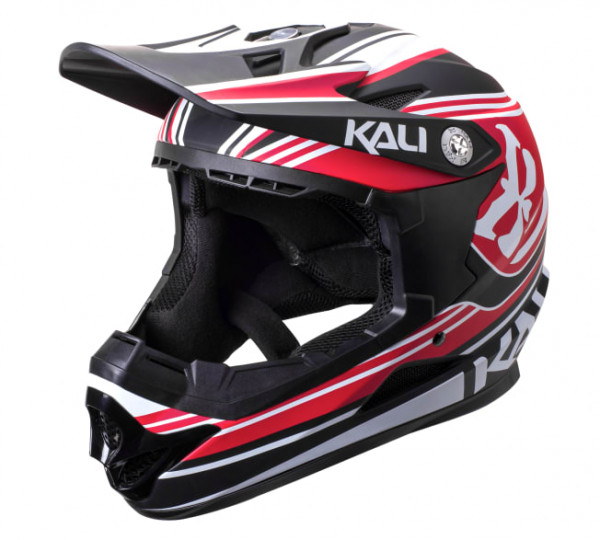 Naka DH Helm Slash ABS Shell - red/black