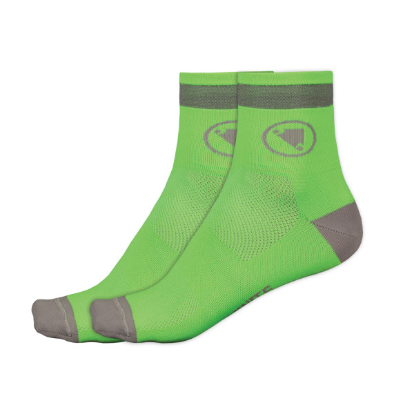 Luminite Socken Doppelpack - Neongrün