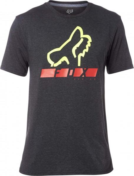 Traingulate Tech T-Shirt - Heather Black