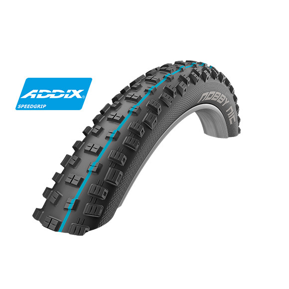 Nobby Nic Faltreifen - 27.5x2.60 Zoll - SnakeSkin TLE Apex - Addix Speedgrip