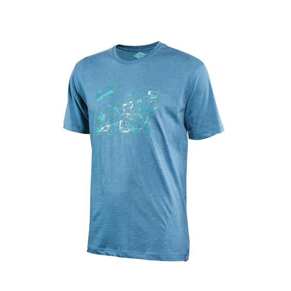 Cut T-Shirt - blue