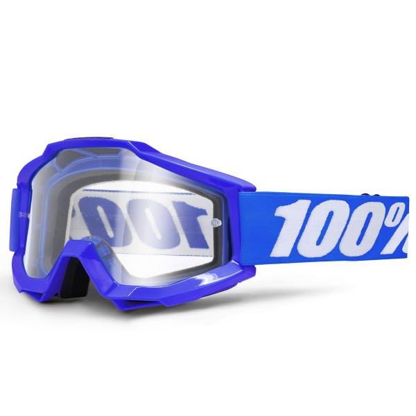 Accuri MX Goggle - Reflex Blue