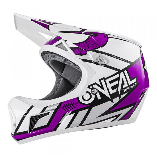 Sonus Strike DH Helm - white/purple - 2018