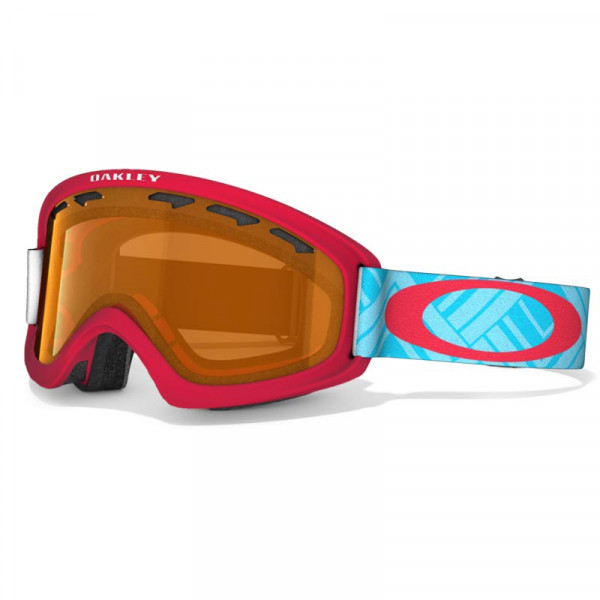 O2 XS Snow Winter Jugend / Kinder Goggle -  BLUE / PERSIMMON